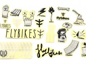 FlyBikes Стикерпак
