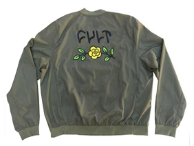 Cult In bloom bomber