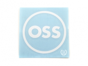 OSS наклейка плоттерная круглая