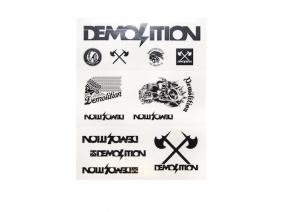 Demolition Лист наклеек