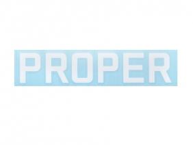 Proper Logo плоттерная