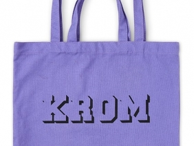 KROM Tote Bag / Purple
