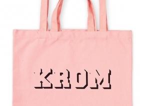 KROM Tote Bag / Peach