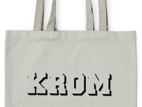 KROM Tote Bag / Grey