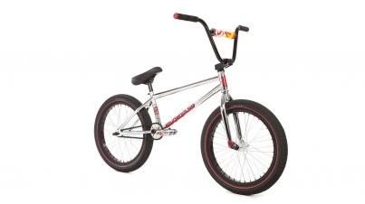 BMX Велосипед FitBikeCo Mac 2018, цвет Хром