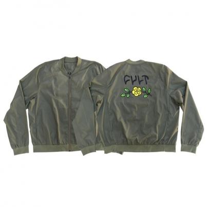 Куртка Cult In bloom bomber, цвет Зелёный