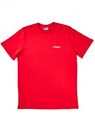 ПРАВДА Лого красная, цвет Красный