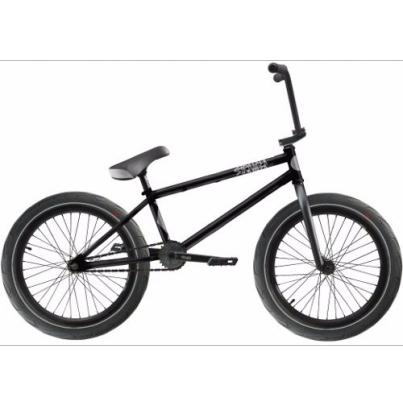 BMX Велосипед Stranger Crux 2017, цвет Чёрный