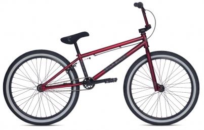 BMX Велосипед Stolen Saint XLT 24 (2015), цвет Бордовый