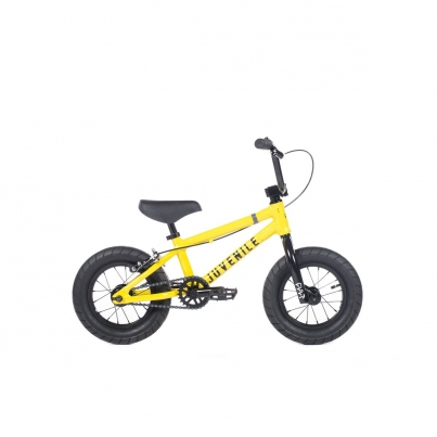 BMX Велосипед Cult Cult Juvi 12 B, цвет Жёлтый
