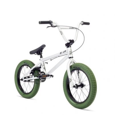 BMX Велосипед Stolen Agent 16 , цвет Серебряный