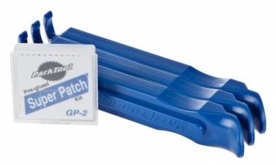 Инструмент Park Tool Монтажки TR-1 + заплатки, цвет Синий