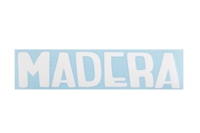 Madera  Big logo, цвет Белый