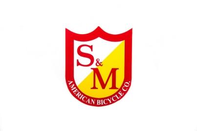 S & M Shield Logo Small, цвет Красный