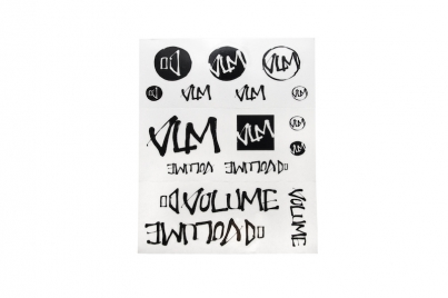 Volume Лист наклеек, цвет Чёрный