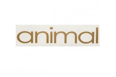 Animal Logo плоттерная, цвет Золотой