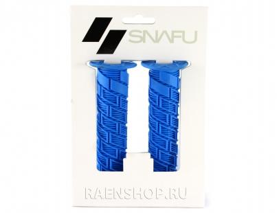Грипсы Snafu Simple, цвет Синий