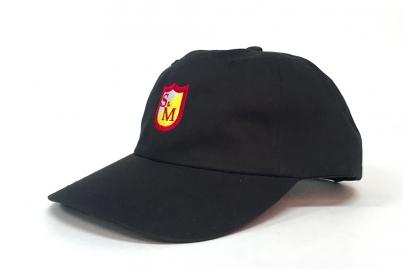 Кепка S & M Shield Logo Dad Cap, цвет Чёрный