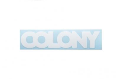 Colony плоттерная, цвет Белый
