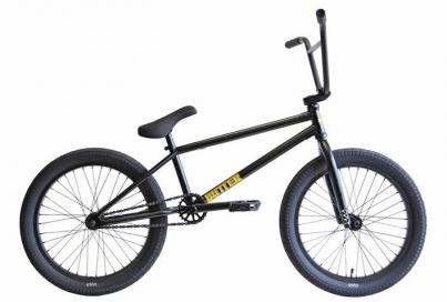 BMX Велосипед Cult Dehart, цвет Чёрный