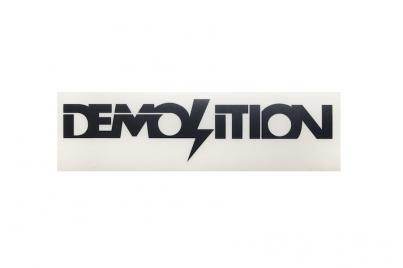 Demolition плоттерная, цвет Чёрный