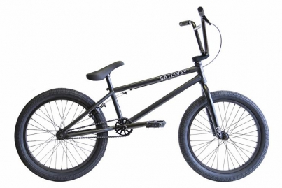BMX Велосипед Cult GATEWAY (2015), цвет Чёрный