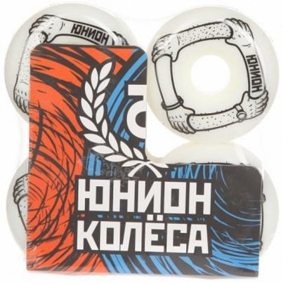 Скейтборд ЮНИОН колёса ARMS, цвет Белый