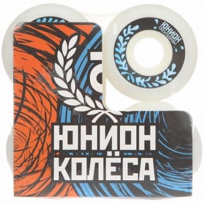 Скейтборд ЮНИОН колёса WATER, цвет Белый