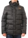 Куртка Rip Curl Puffer Hooded Jacket, цвет: Чёрный, Размер: L