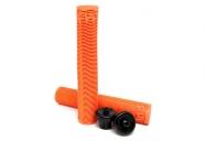 Грипсы Cult Ricany, цвет: Оранжевый, Длина : 160мм, Фланцы: Нет