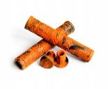 Грипсы Tempered Zephyr flangless, цвет: Оранжевый, Длина : 160мм, Фланцы: Нет