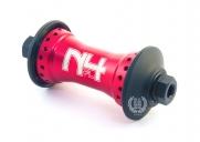 Передняя втулка Primo N4 FL V2, цвет: Красный, Кол-во спиц: 36, Крепление : болты 10мм