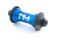 Передняя втулка Primo N4 FL V2, цвет: Синий, Кол-во спиц: 36, Крепление : болты 10мм