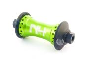 Передняя втулка Primo N4 FL V2, цвет: Зелёный, Кол-во спиц: 36, Крепление : болты 10мм