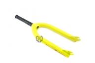 Вилка Primo Kamikaze V2, цвет: Жёлтый, Диаметр оси: 10мм, Выбег: 35