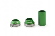 Каретка FlyBikes Spanish 22mm, цвет: Зелёный, Стандарт: SPN, под ось: 22мм