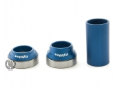 Каретка FlyBikes Spanish 22mm, цвет: Синий, Стандарт: SPN, под ось: 22мм