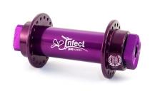 Передняя втулка Infect Transformer, цвет: Фиолетовый, Кол-во спиц: 36, Крепление : болты 10мм