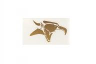 Animal Голова плоттерная, цвет: Золотой,