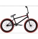 BMX Велосипед Stranger Crux 2017, цвет: чёрно-красный, , Ростовка: 20,75