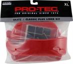 Защита Pro Tec Classic Skate Liner Kit, цвет: Красный, Размер: L