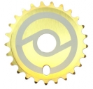 Звезда Primo Solid, цвет: Золотой, Кол-во зубьев: 25