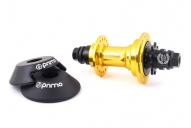 Задняя втулка Primo Remix v2 GUARD, цвет: Золотой, Сторона: RHD, Кол-во спиц: 36, Драйвер: 9 зубов, Крепление : болты 14мм