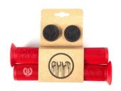 Грипсы Cult Dehart FLANGED, цвет: Красный, Длина : 160 mm