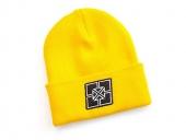 Шапка FitBikeCo Key Hat, цвет: Жёлтый,