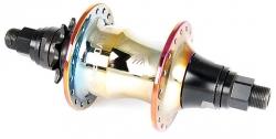 Задняя втулка Proper Select Freecoaster, цвет: Oil Slick, Сторона: LHD, Кол-во спиц: 36, Драйвер: 9 зубов, Крепление : ось 14мм