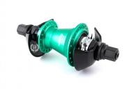 Задняя втулка Division Tactical Freecoaster, цвет: Бирюзовый, Сторона: LHD, Кол-во спиц: 36, Драйвер: 9 зубов, Крепление : ось 14мм, Формат: 0