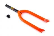 Вилка Stolen Vortex V2, цвет: Оранжевый, Диаметр оси: 10мм, Выбег: 33мм