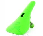Седло Stolen PC + Therm Post(75mm), цвет: Зелёный, Форма: Slim, Крепление: Pivotal