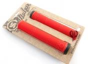 Грипсы Stolen Loot (Flangless), цвет: Красный, Длина : 160